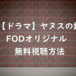 【ヤヌスの鏡】の動画を無料視聴する方法!桜井日奈子のFODドラマ!