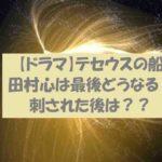 【テセウスの船 最終回】主人公田村心の最後はどうなるの?加藤みきおに刺される?